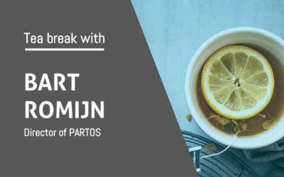 Tea break with Bart Romijn