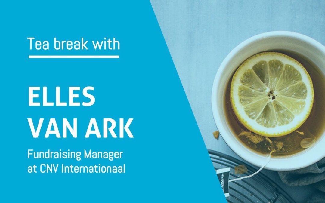 Tea break with Elles van Ark