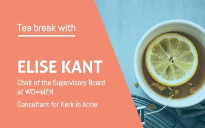 Tea break with Elise Kant