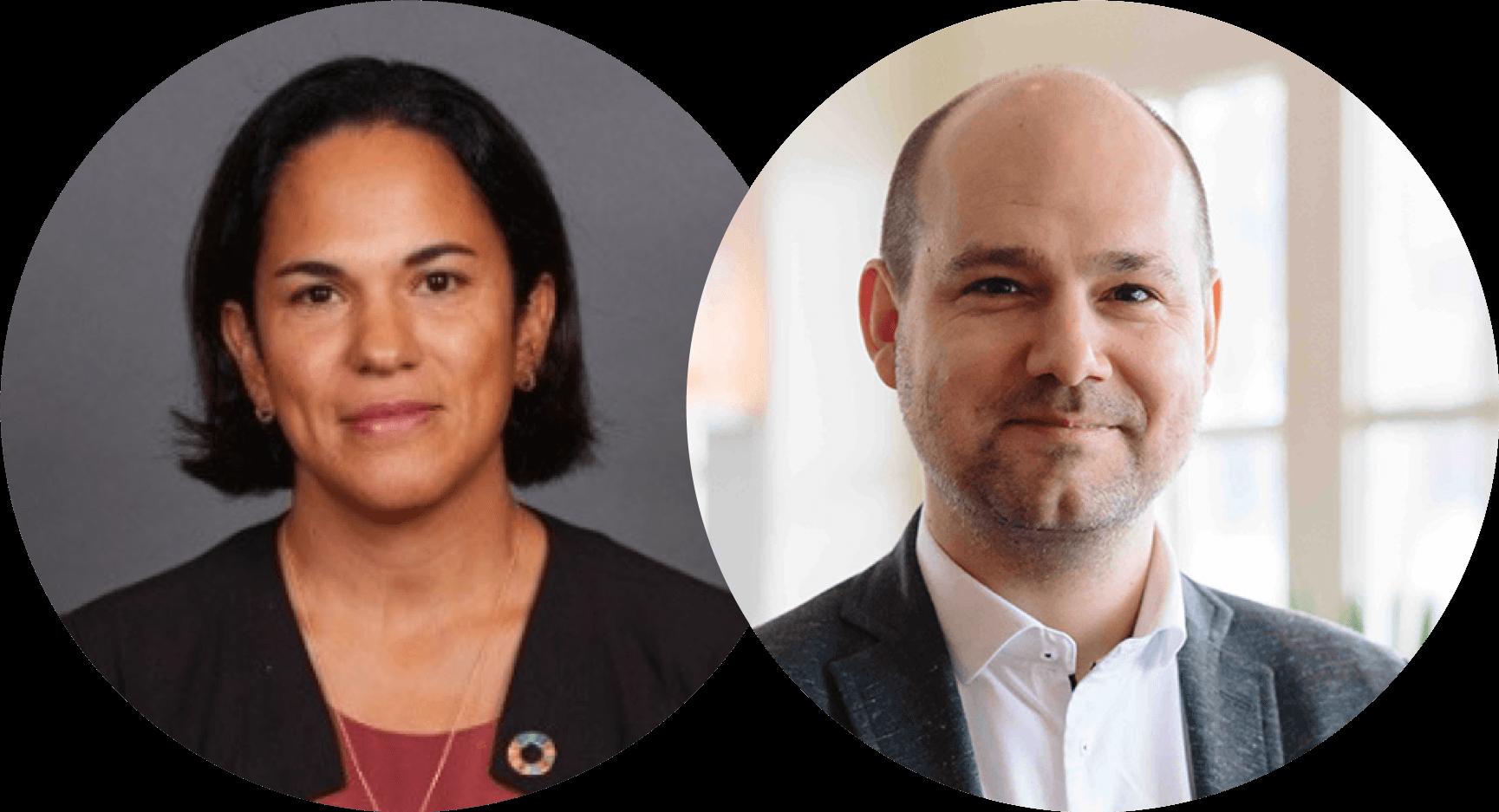 Han Valk and Eva Pineda Hansen