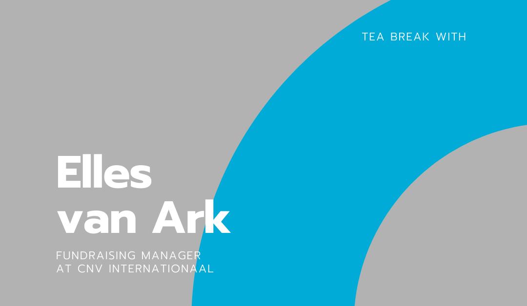 Tea break with Elles van Ark