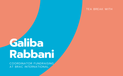 Tea break with Galiba Rabbani