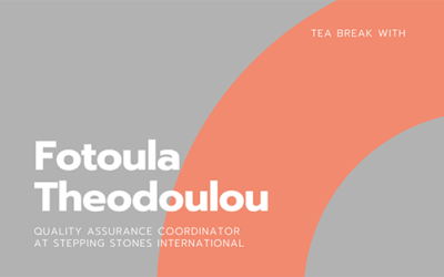 Tea Break With Fotoula Theodoulou
